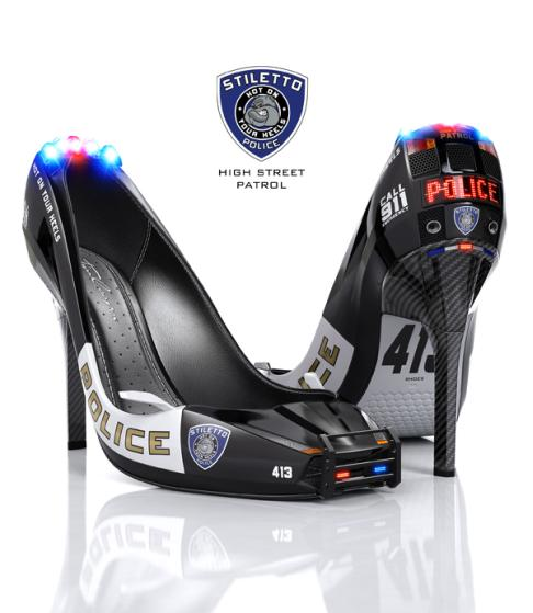 sexy police woman shoes