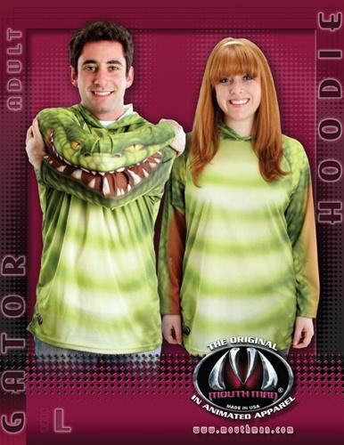 snake mouth hoodie shirt
