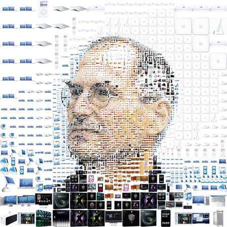 steve jobs collage birthday