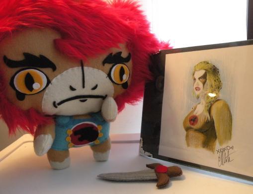 thundercats liono doll