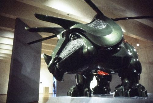 triceratop helicopter design