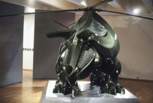 triceratop helicopter