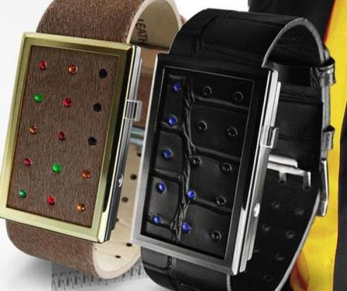 waku tokyoflash valentine watch design