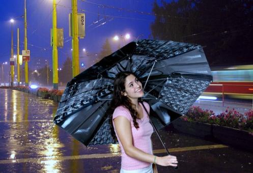 xray umbrella design