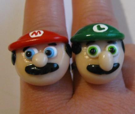 Mario and Luigi Rings