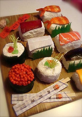 Sushi Cake Platter (3)