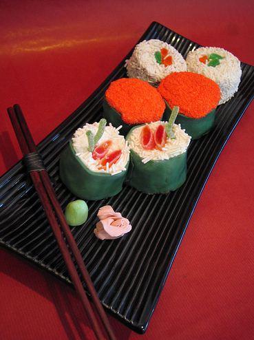 Sushi Cake Platter