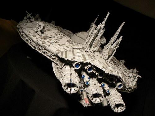 cool star wars lego droid ship