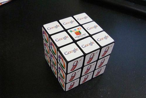 google rubik's cube