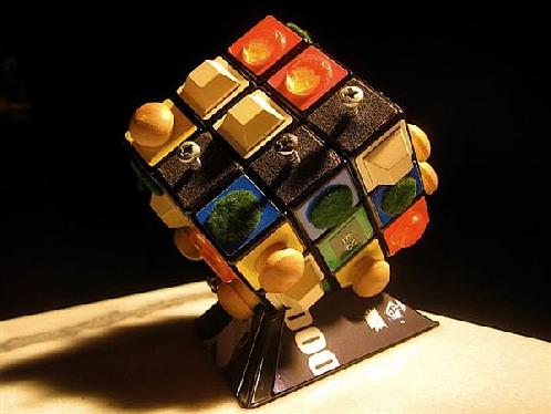 handicap visually impaired rubik's cube