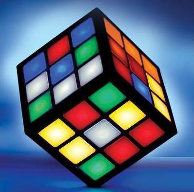 hitech touchscreen rubik's cube