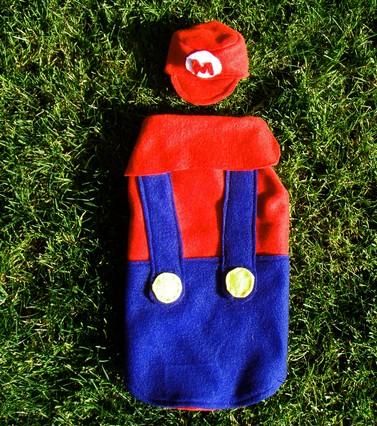 Funny Super Mario Dog Costume Comforts Your Puppy Walyou