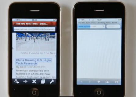 opera mini iphone vs safari