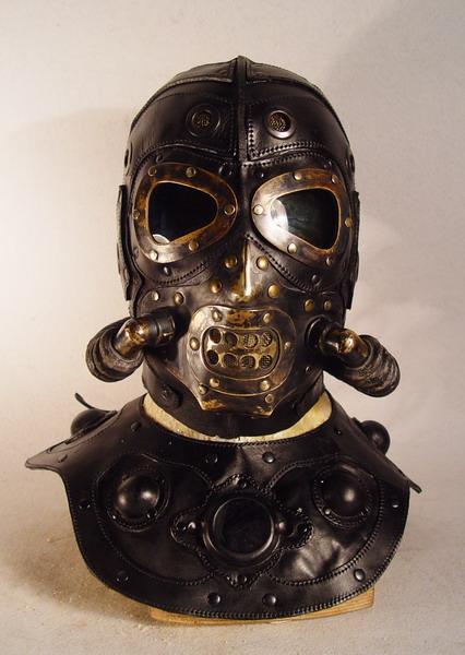 scary steampunk mask 1