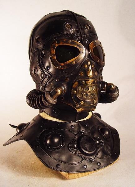 scary steampunk mask 2