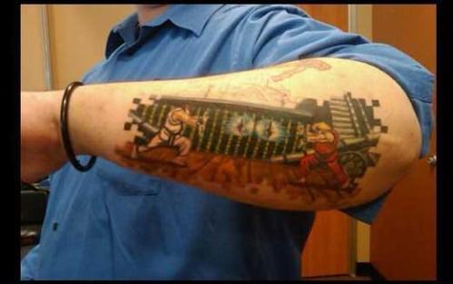 street fighter tattoo