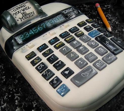Calculator cakulator cake