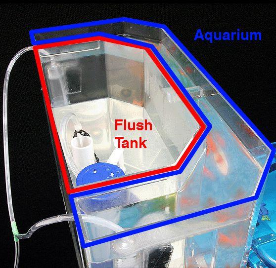 Fish Tank Toilet 2
