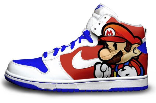 Mario Nike shoes