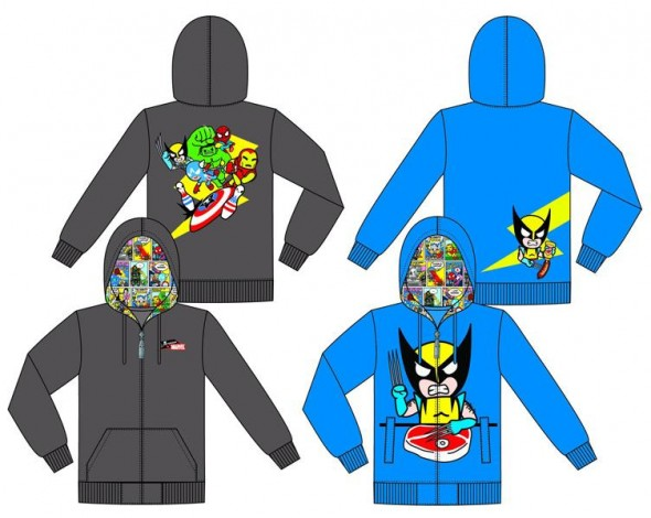 Marvel and Tokidoki Team Brings you Hoodies