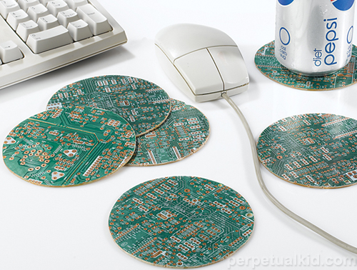 Motherboard Coasters