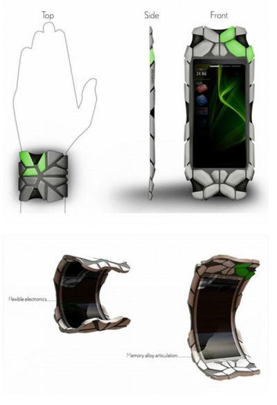 Samsung Concept OLED Wrist Communicator-2