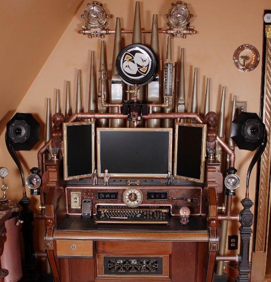 Steampunk Organ Computer