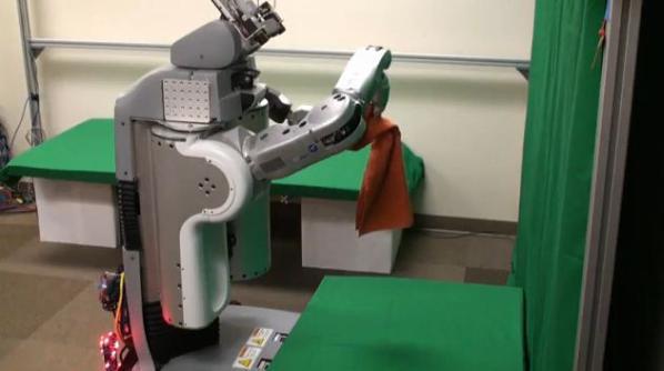 Towel Folding Robot