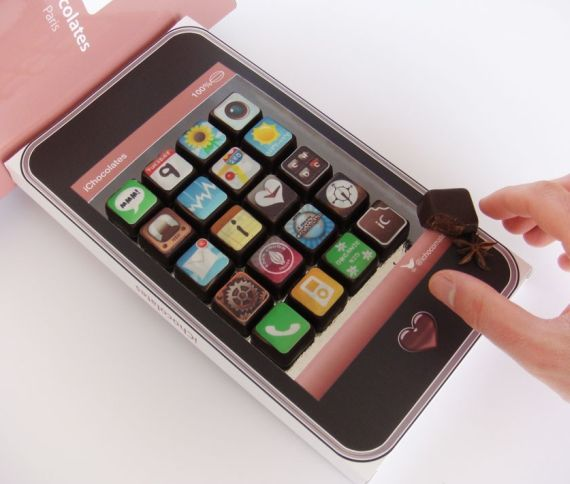 Where Chocolates Meets iPhone Applications