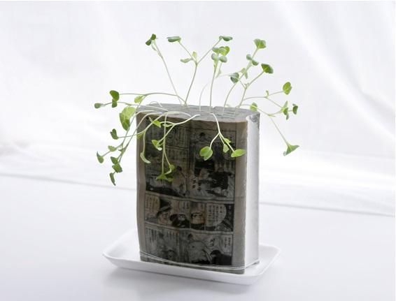 manga comics planters