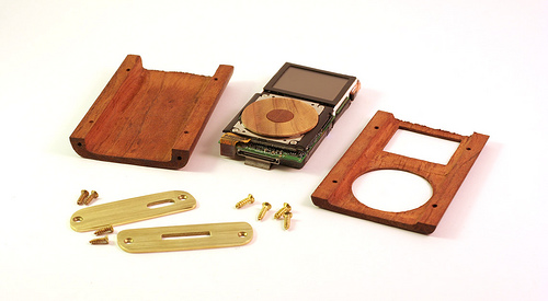 parts of wooden ipod mini