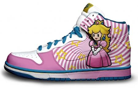 princess peach shoes