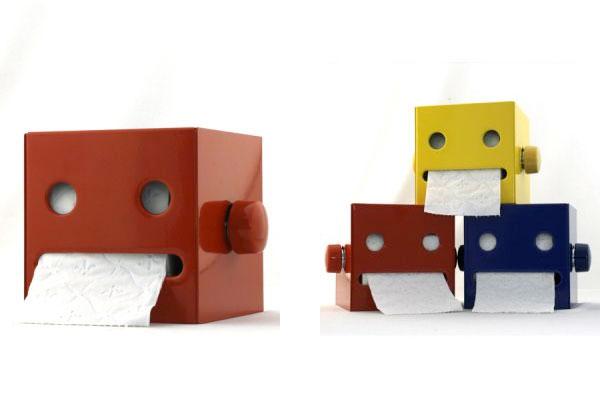 robot toilet paper