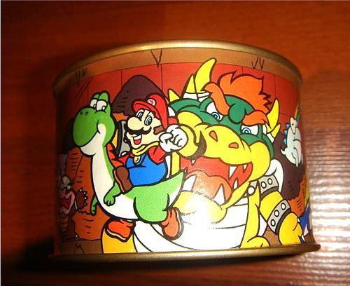 super mario music box