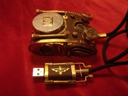 2 steampunk mouse