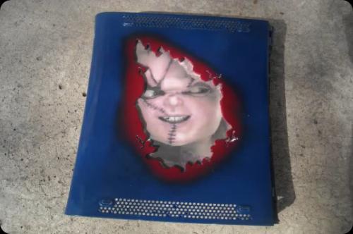 Evil Chucky Takes Over Xbox 360 (4)