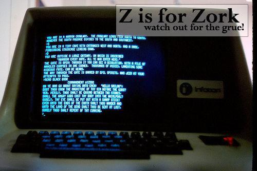 Geek Alphabet A for Away Team Right up to Z for Zork