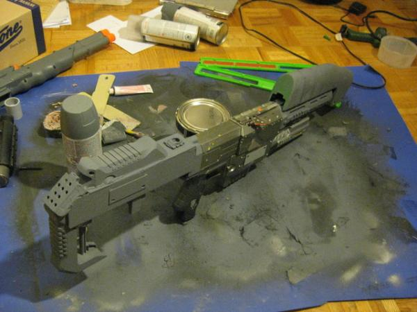 Halo Rifle Body