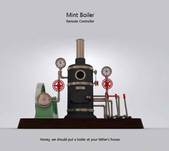 Mint boiler remote controller4