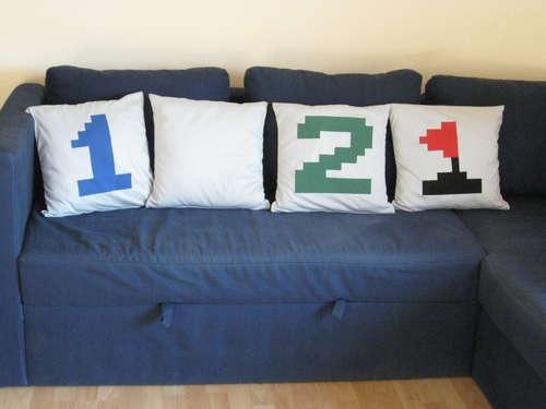 Musical Minesweeper Pillows