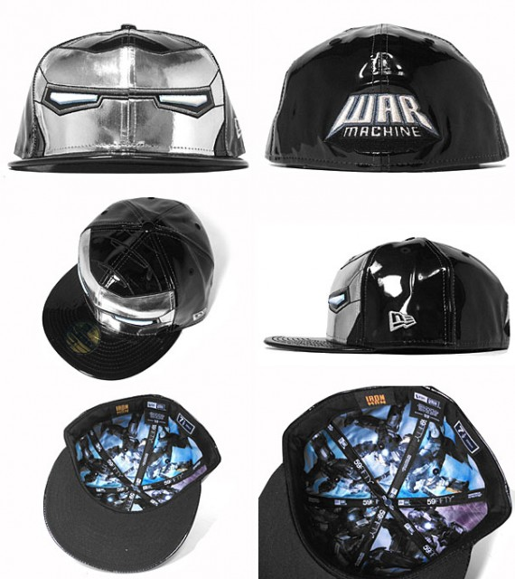 Get Ready To Update Your Headgear with the New Iron Man 2 Cap - Walyou f8c0a1c6c024