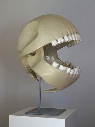 Pac Man Skull