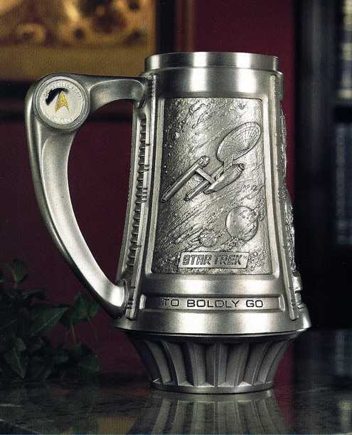 Star Trek Pewter Mug Design