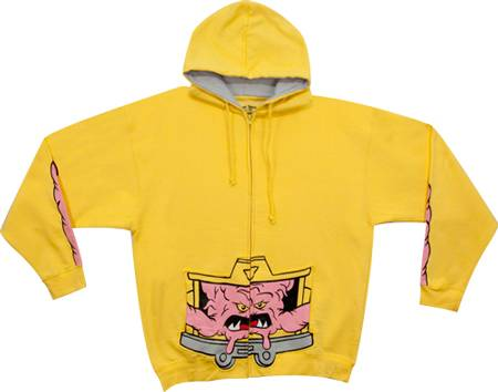 Teenage Mutant Ninja Turtles Krang Hoodie2