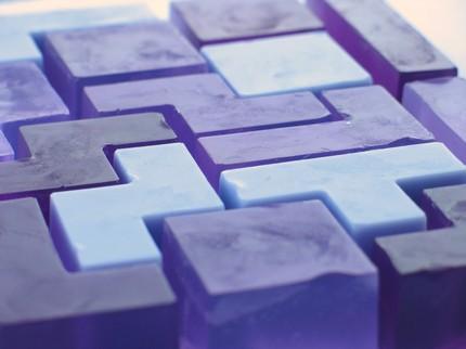 Tetris Block Soap