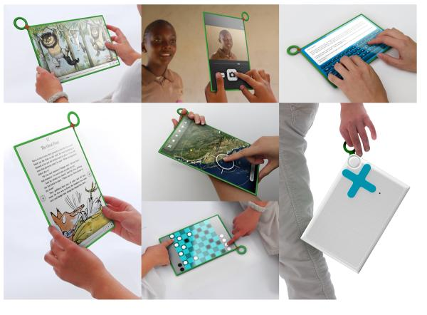 Using OLPC XO-3 Tablet