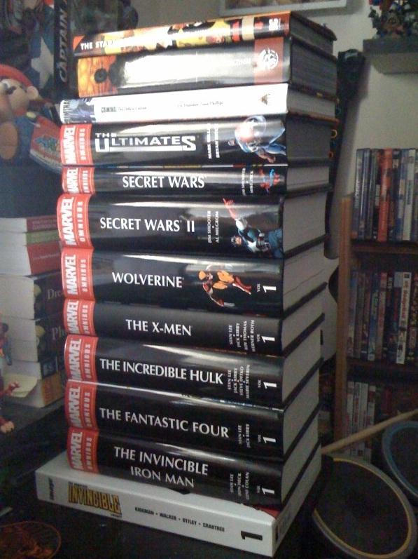 comic books geek reading list