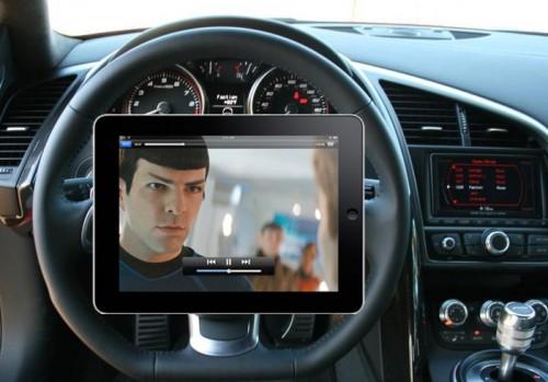 iPad Steering Wheel Mount