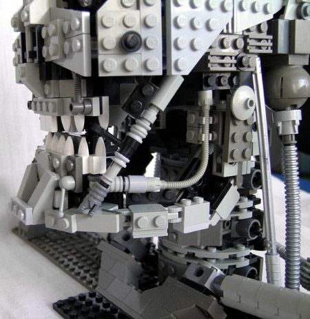 lego terminator model t-800 image