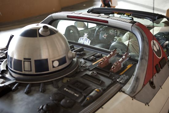 x wing fighter car mod star wars